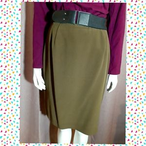 🎄💥 Peter Nigard silk skirt -vintage classic
